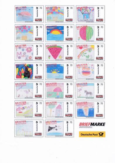 Briefmarke Selber Drucken